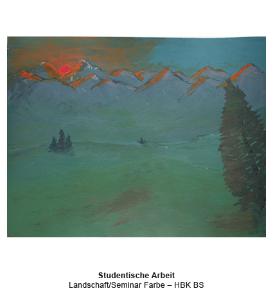 Studentische Arbeit - Landschaft