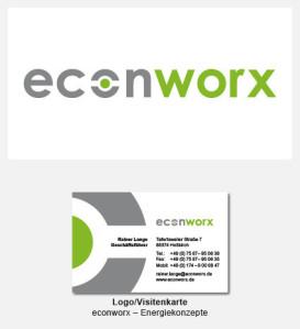 Logo und Visitenkarte - econworx