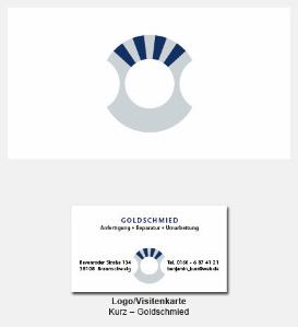 Logo und Visitenkarte - Benjamin Kurz Goldschmied
