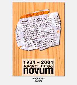 Plakat, Poster - novum, World of Graphic Design