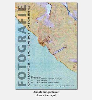 Plakat, Poster - Fotografie-Ausstellung, Jonas Karnagel