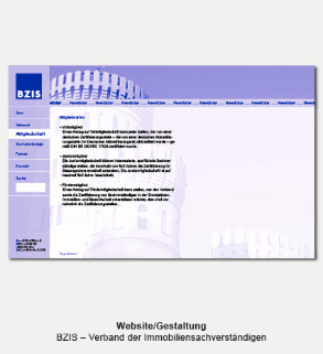 Website - BZIS, Bundesverband zertifizierter Immobiliensachverständiger