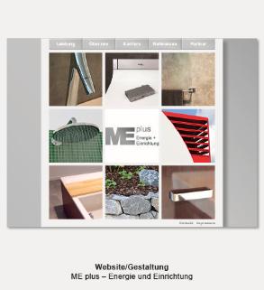 Website - MEplus, Energie und Einrichtung