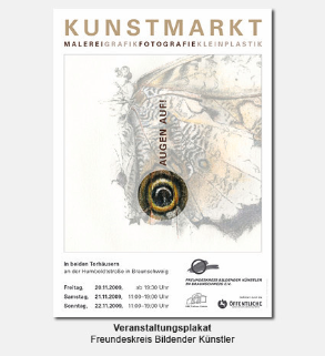 Plakat, Poster - Freundeskreis Bildender künstler Braunschweig