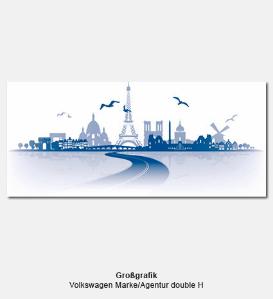 Großgrafik, Messegrafik - Volkswagen Marke, Agentur double H