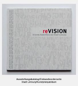 Katalog, Buch, Einbandvorderseite - Stadt Limburg, Ausstellumng reVISION