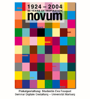 Plakatgestaltung: Studentin Eva Fouquet – Seminar Digitale Gestaltung, Universität Marburg